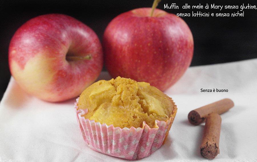 Muffin alle mele senza glutine di Mary