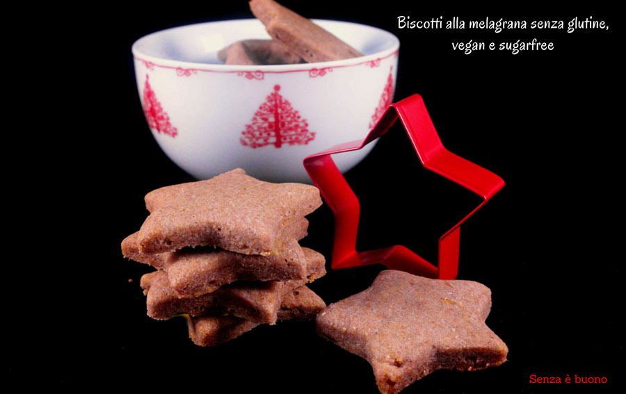 Biscotti alla melagrana