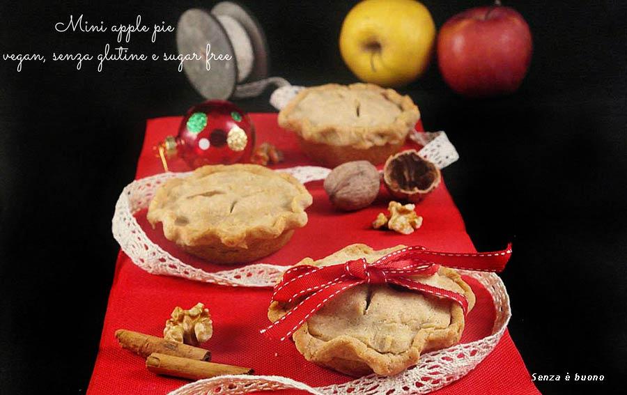 Mini apple pie vegan senza glutine