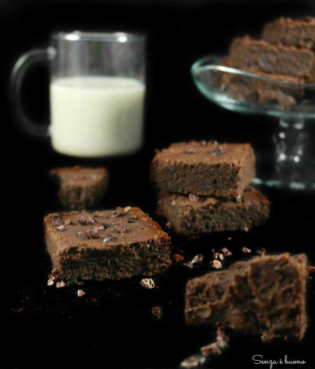 Brownies senza glutine vegan
