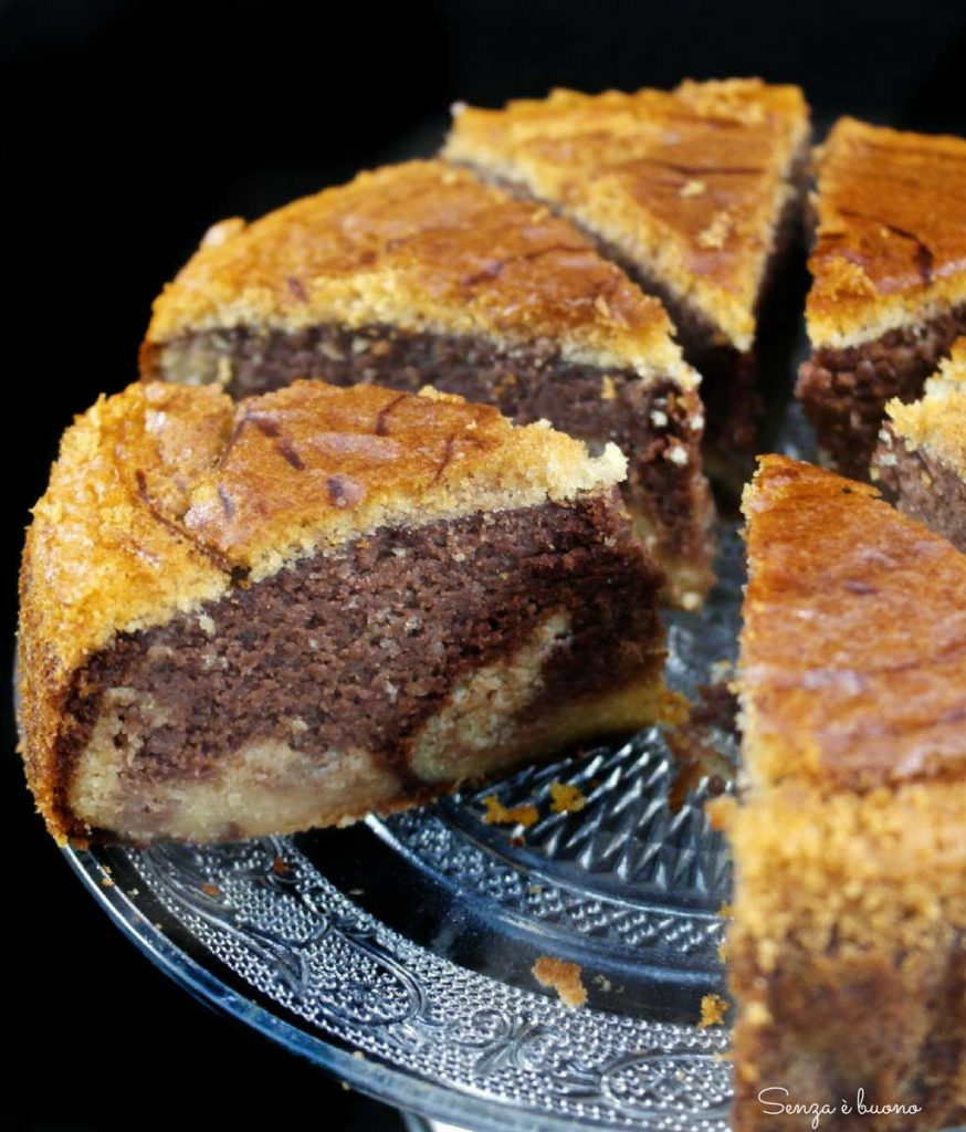 torta soffice senza glutine all'acqua