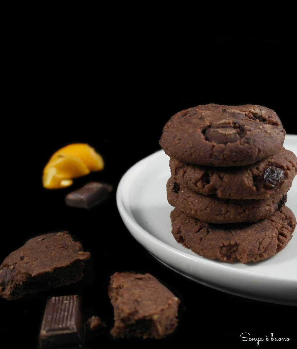 Biscotti vegan senza zucchero e senza glutine