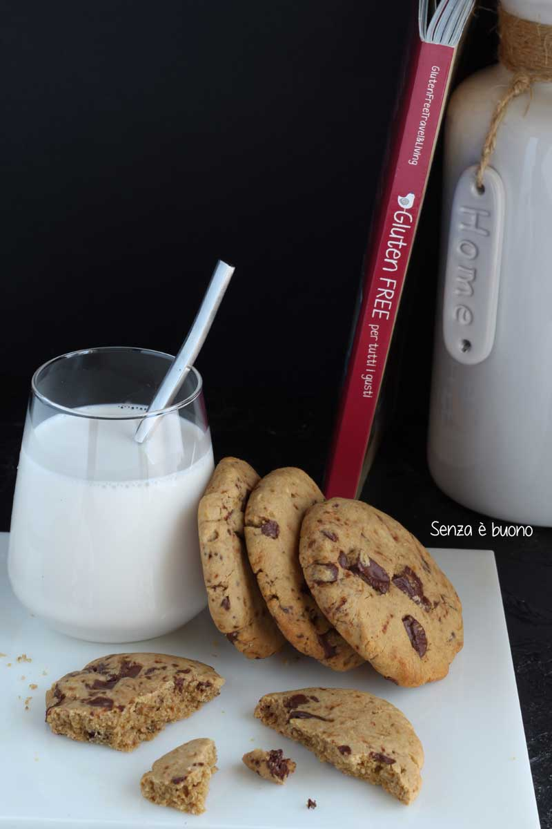 Cookies senza glutine senza burro
