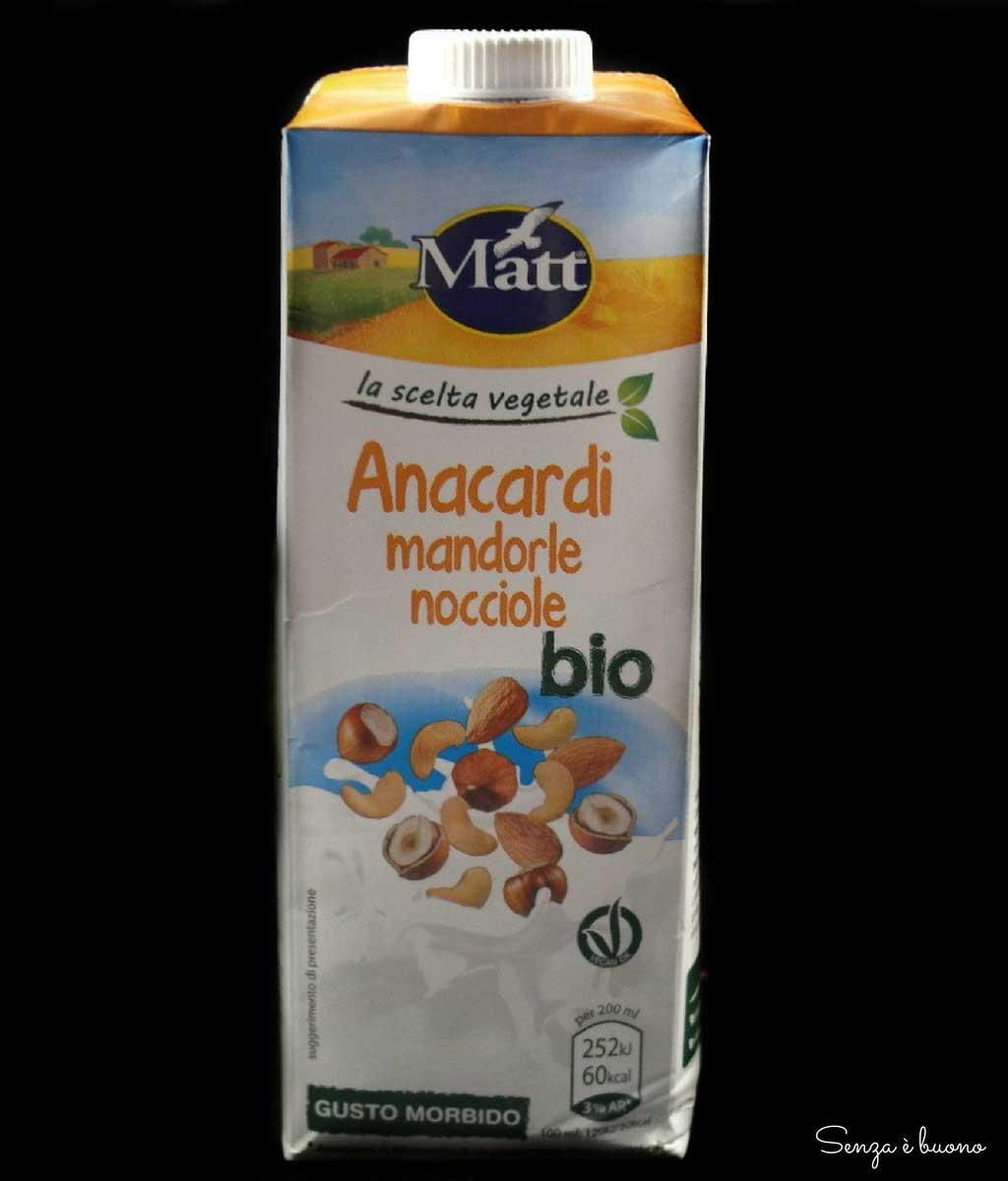 Latte vegetale Matt Benessere