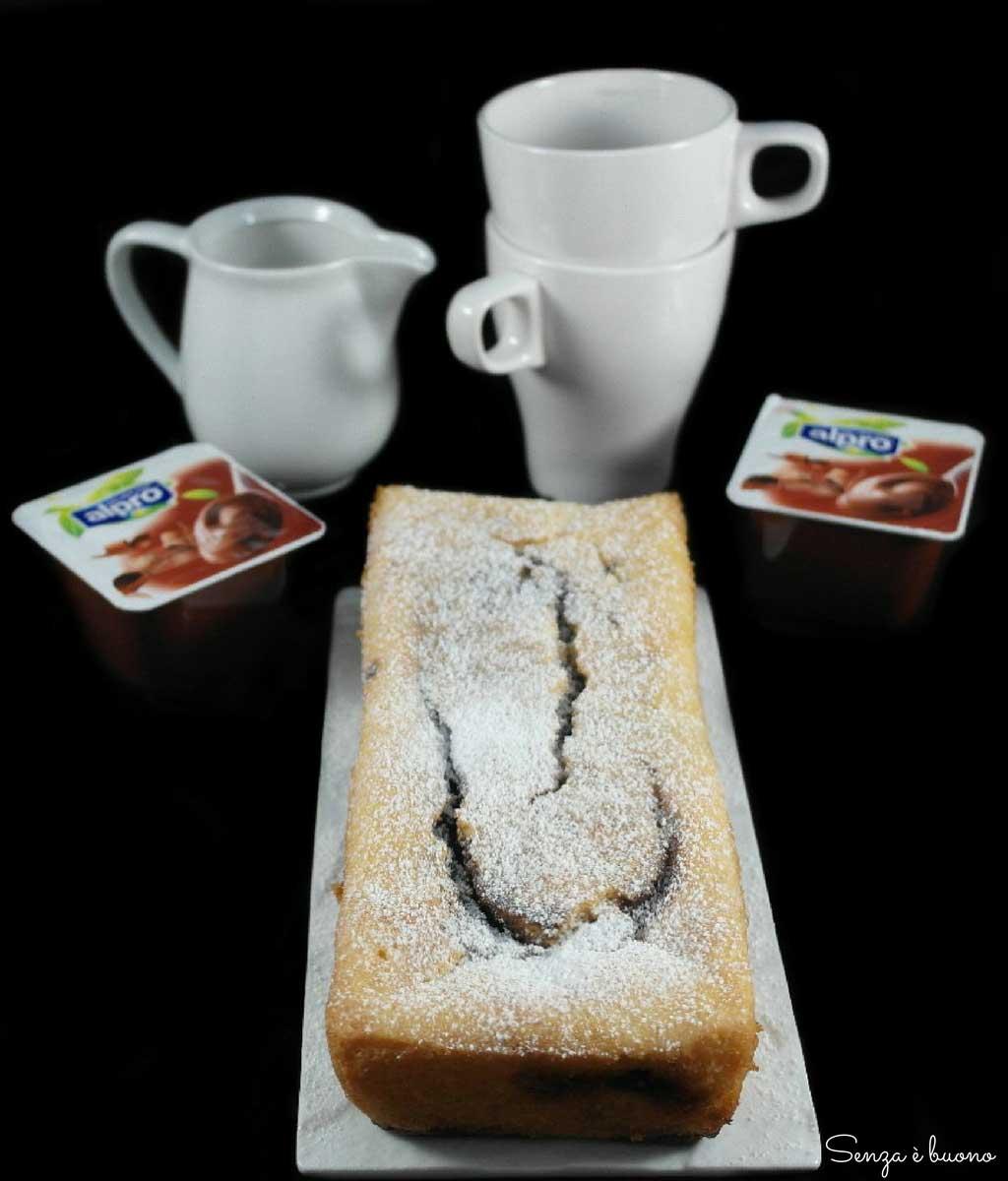 Plumcake senza glutine e senza lattosio