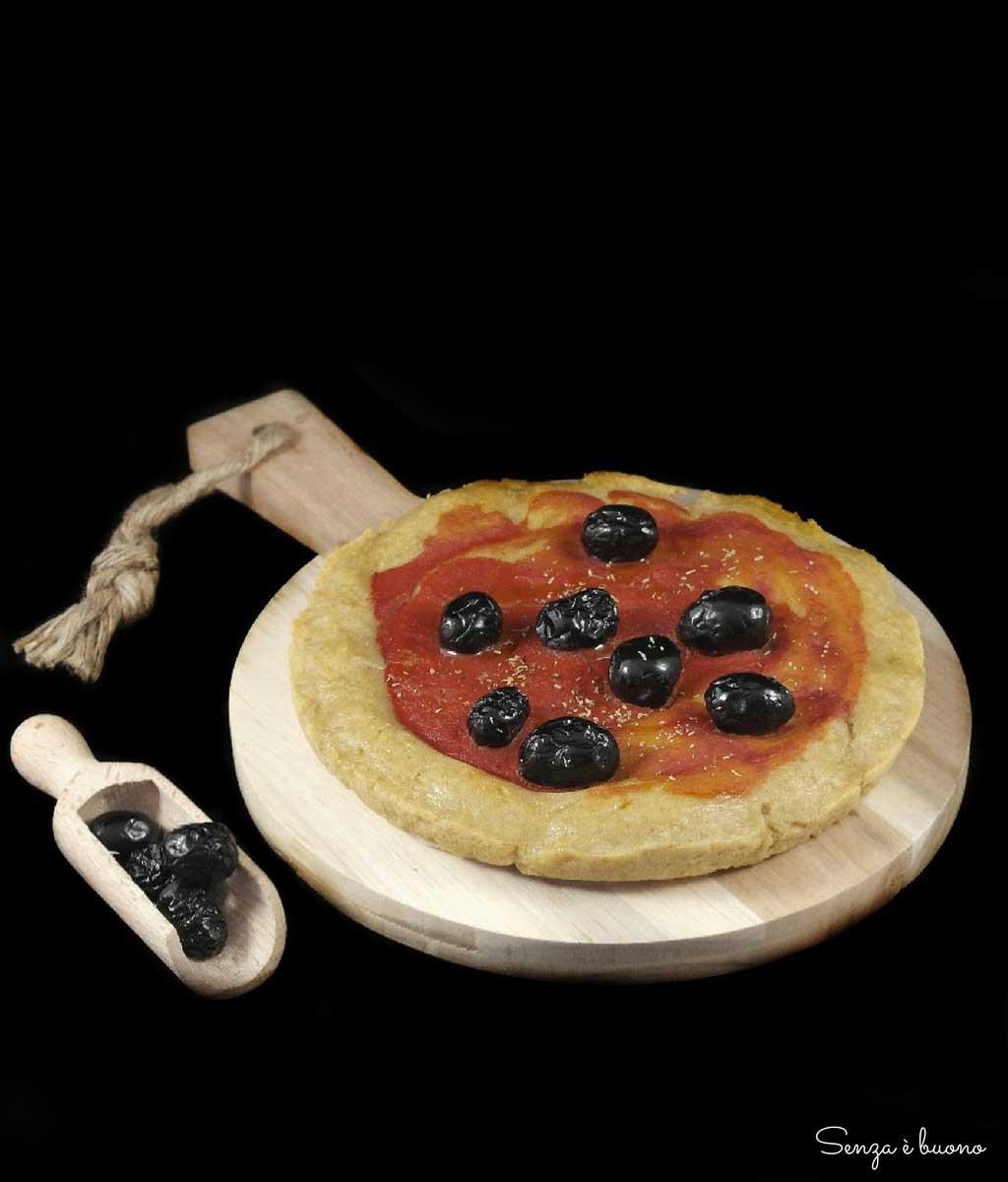 pizza senza glutine fatta in casa