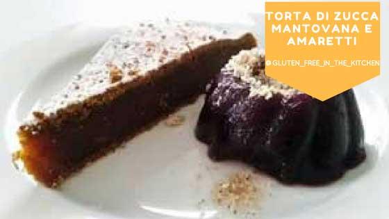 Torta zucca e cacao senza glutine