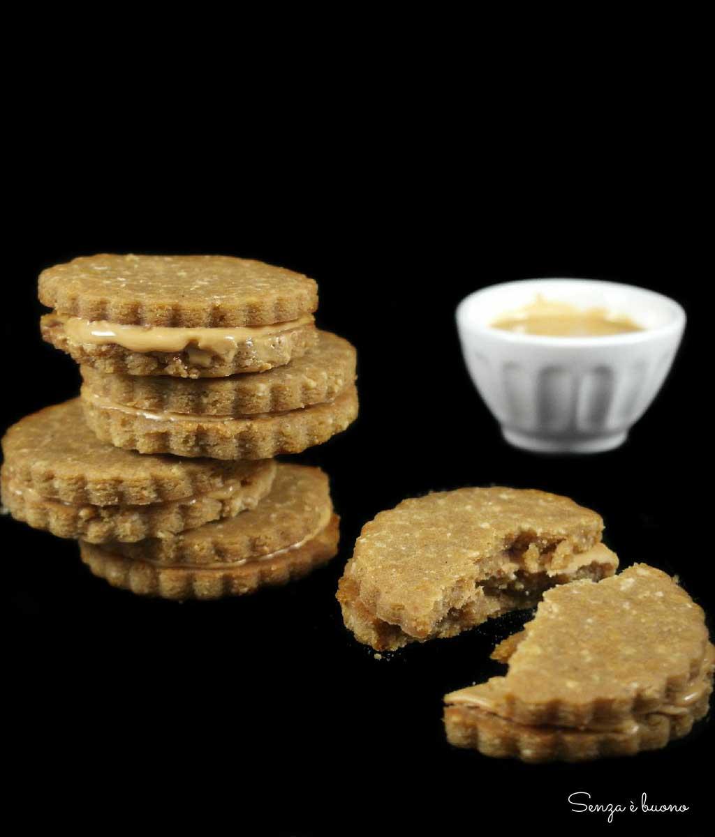 Frollini con burro di arachidi vegan senza glutine