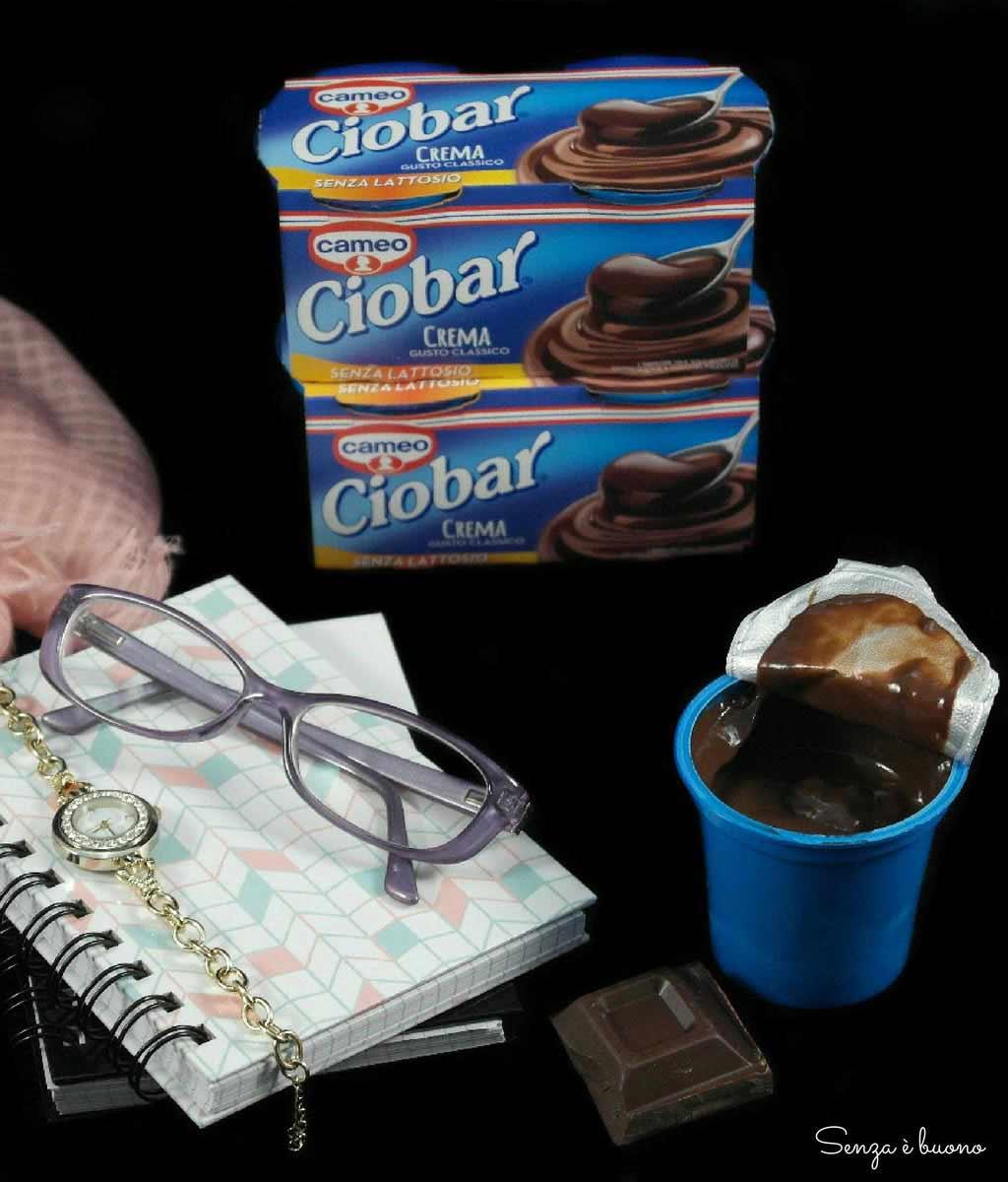 Ciobar desert al cioccolato senza lattosio senza glutine