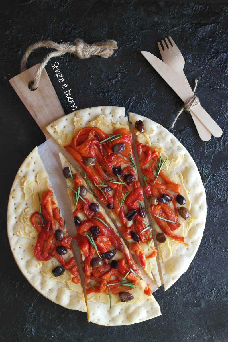 Ricetta con la base per pizza senza glutine Bofrost*