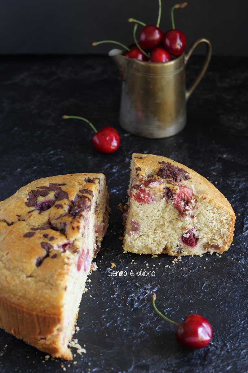 Ricetta torta di ciliegie