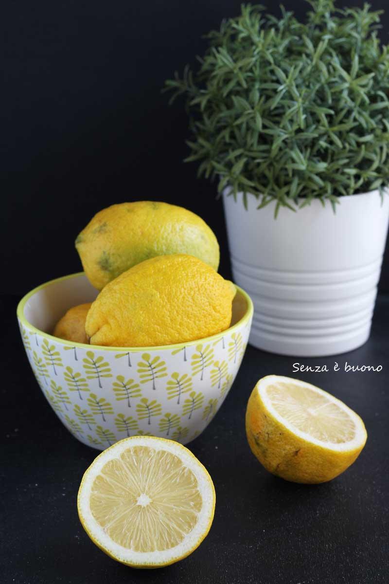 Limoni crema pasticcera senza glutine