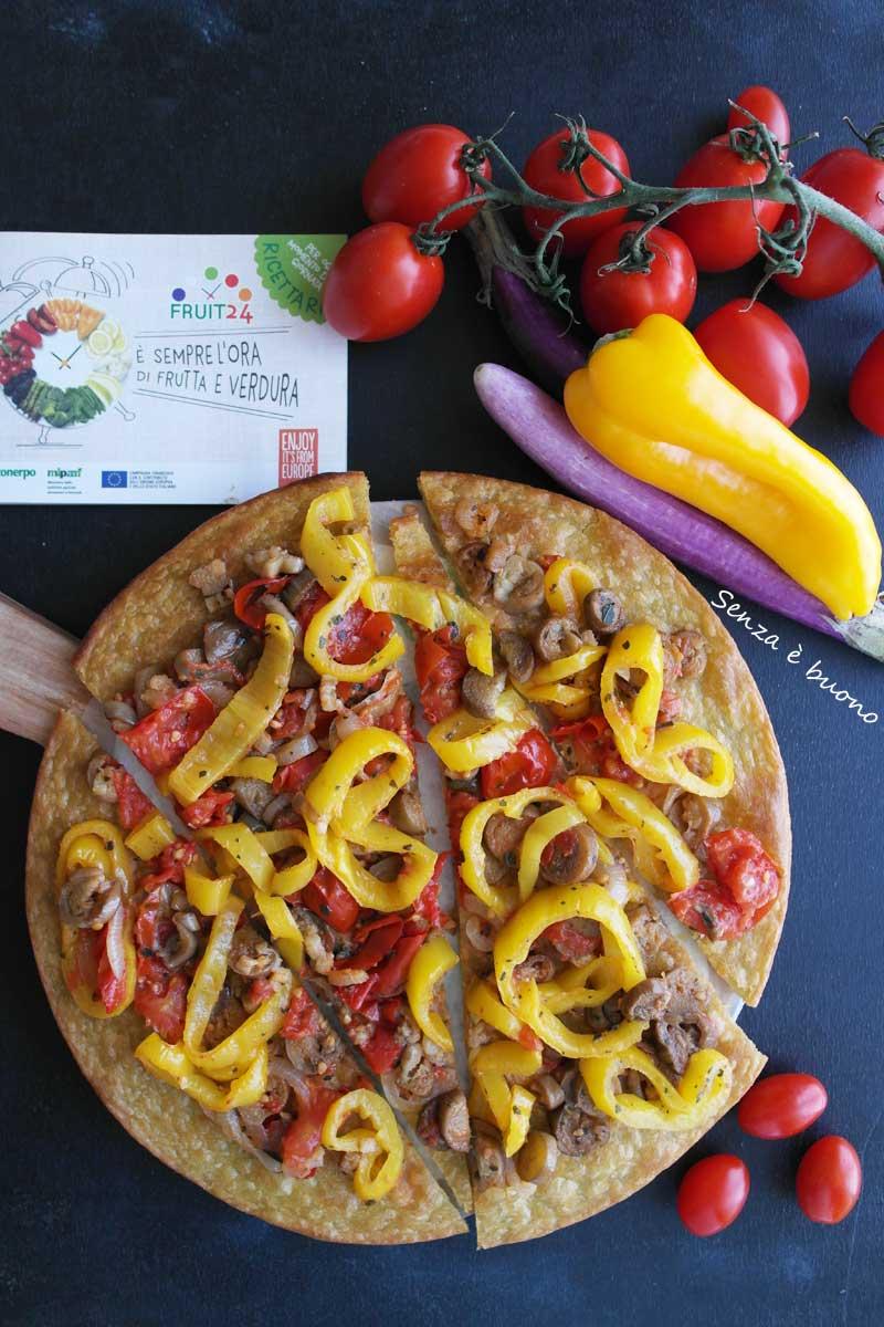 Pizza senza glutine e senza lievito