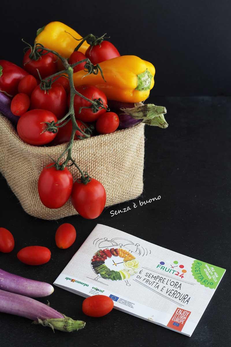 Progetto Fruit 24: mangiare fruta e verdura di stagione