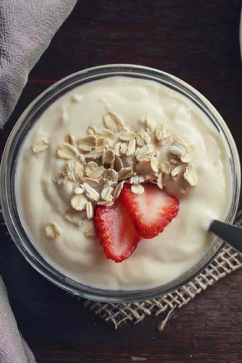 yogurt vegetale: tipi di yogurt