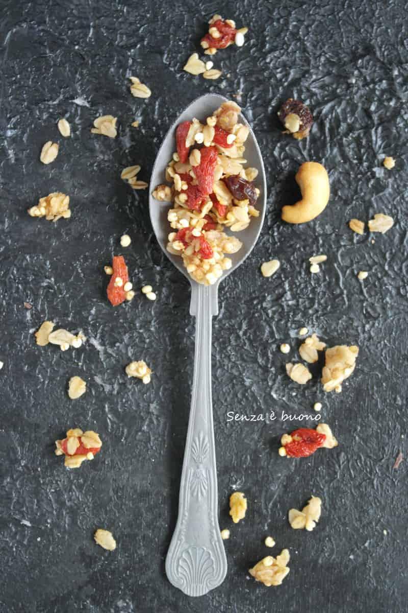 Ricetta granola in padella facile e veloce