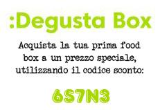 Degustabox codice sconto