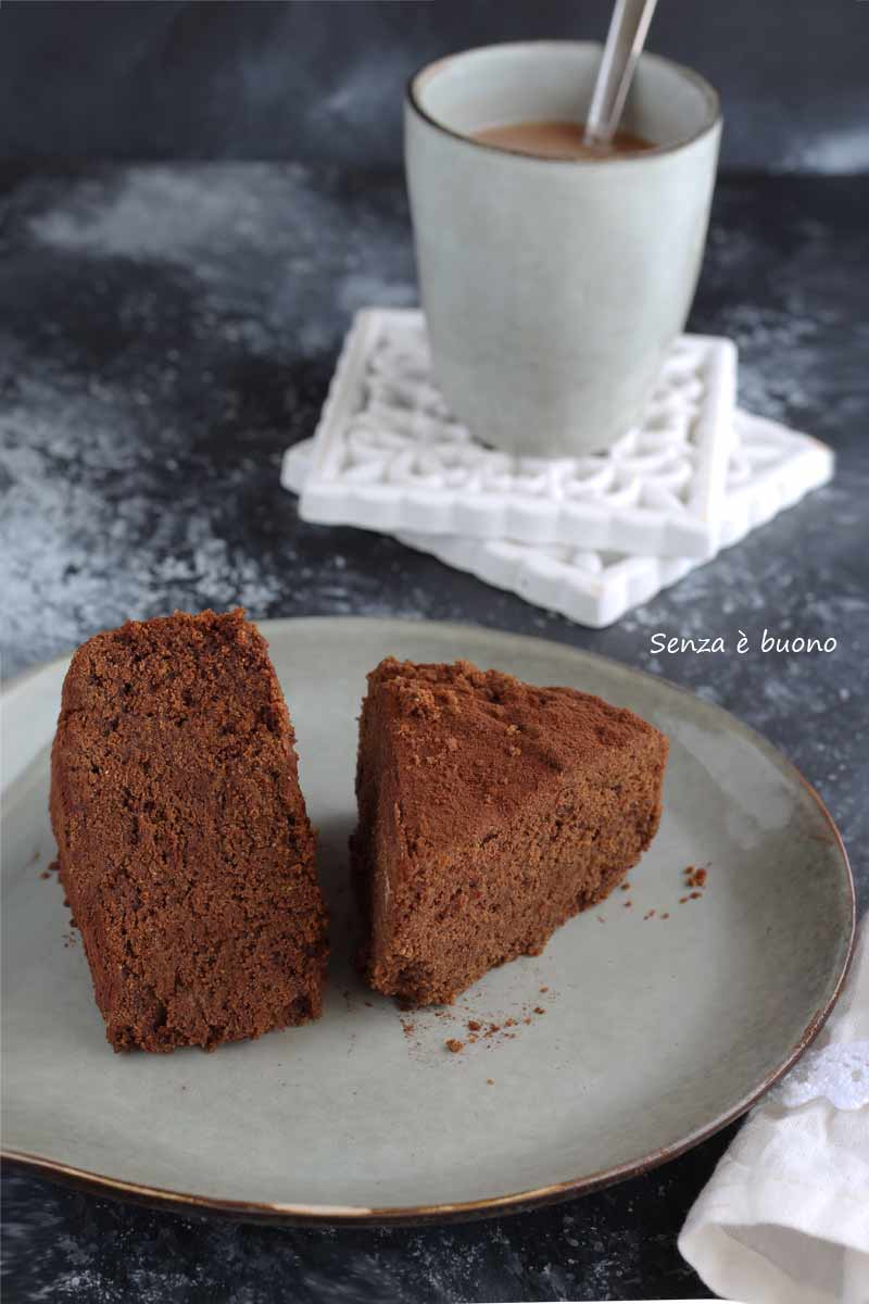 Ricetta torta al latte caldo senza glutine vegan