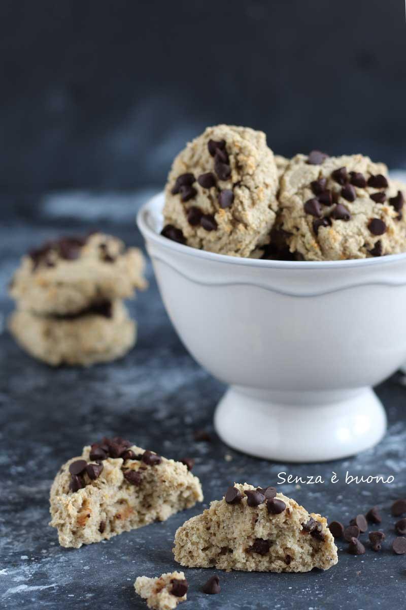 Biscotti senza glutine senza zucchero e senza burro
