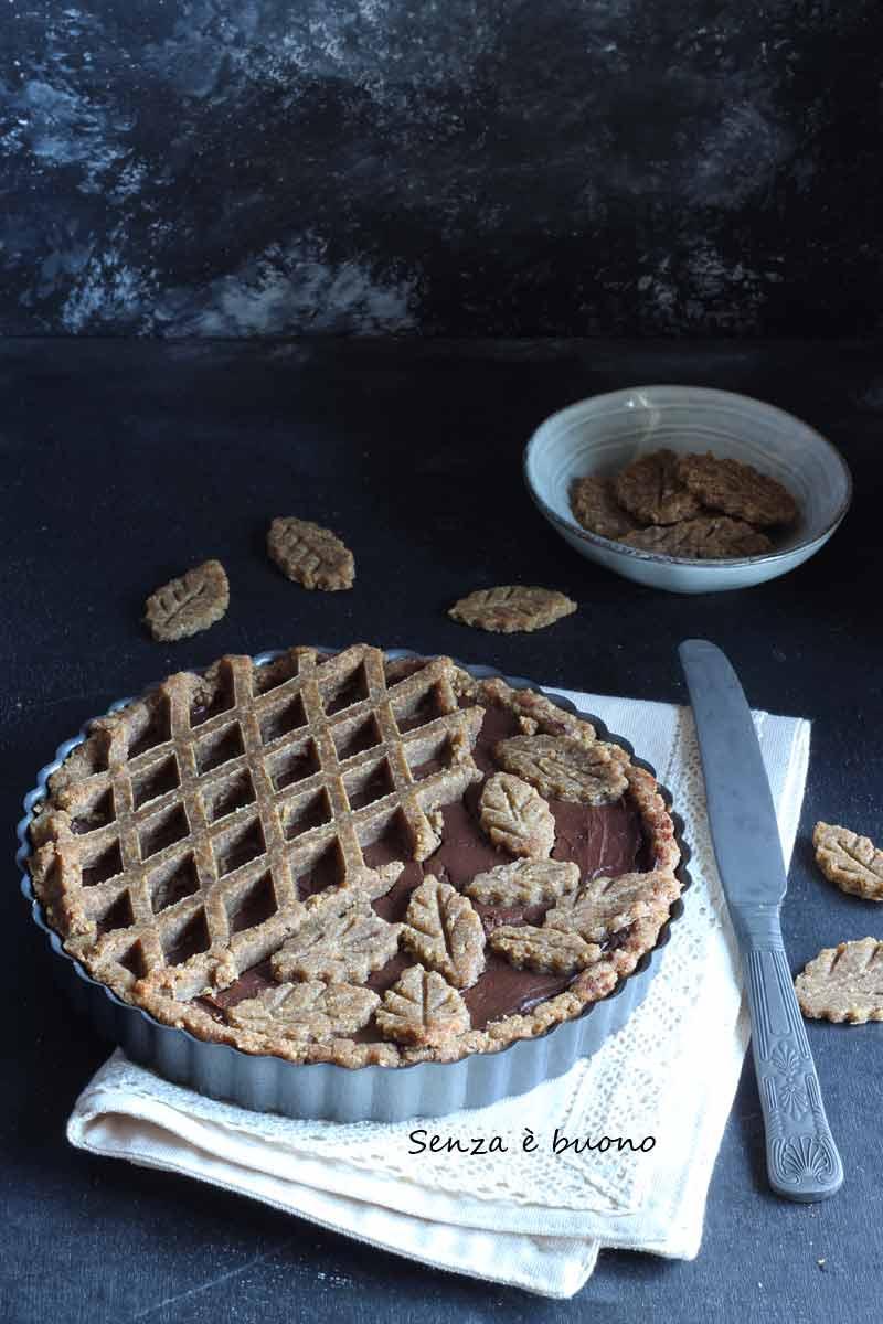 Ricetta crostata con farine naturali senza glutine