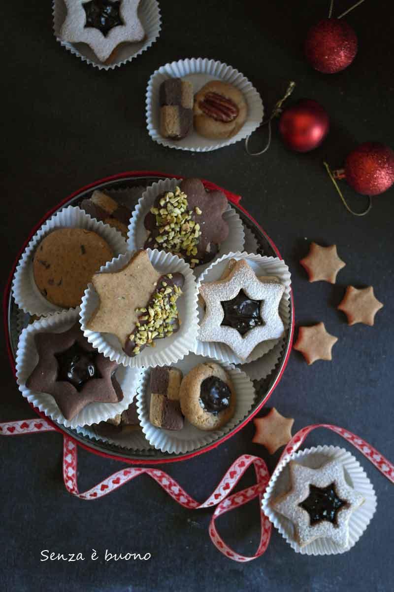 Biscotti Classici Di Natale.Biscotti Integrali Senza Glutine 1 Impasto Tanti Gusti Senza E Buono