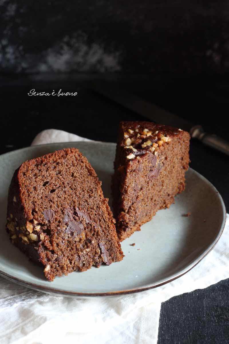 torta dolce al pomodoro con cioccolato