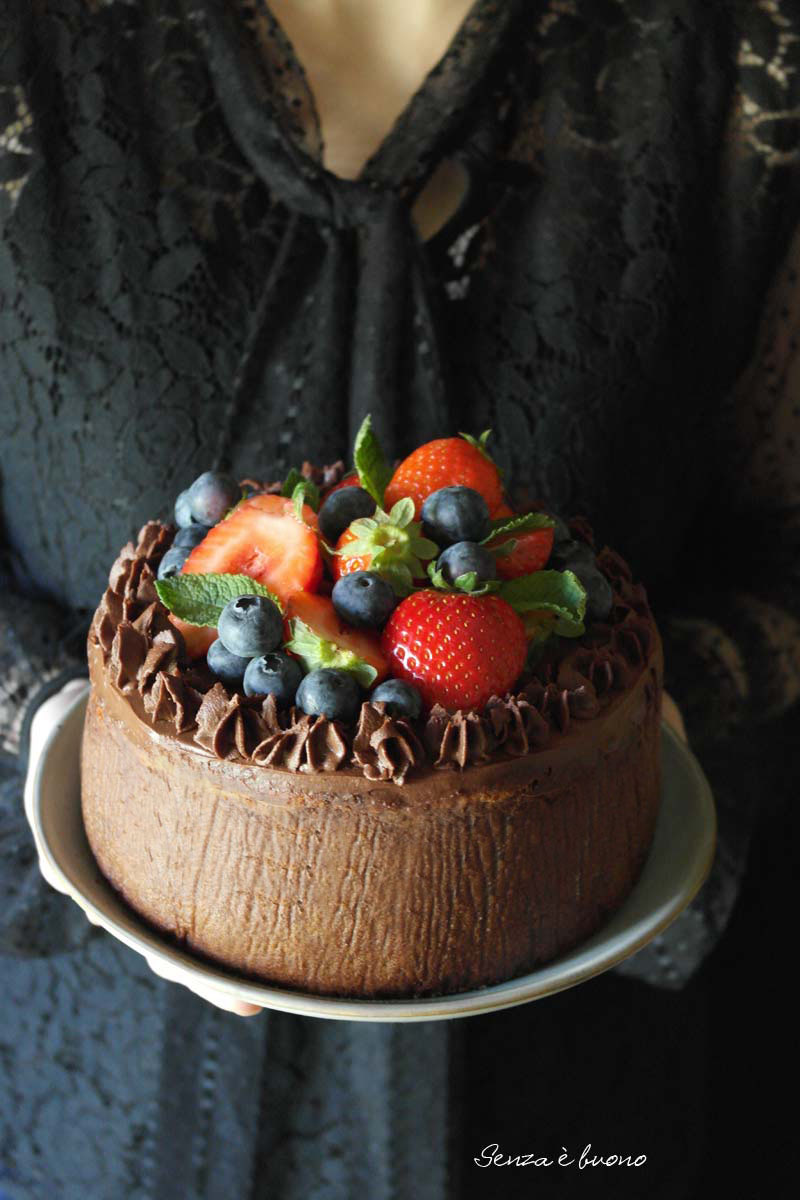 Torta brownies cheesecake