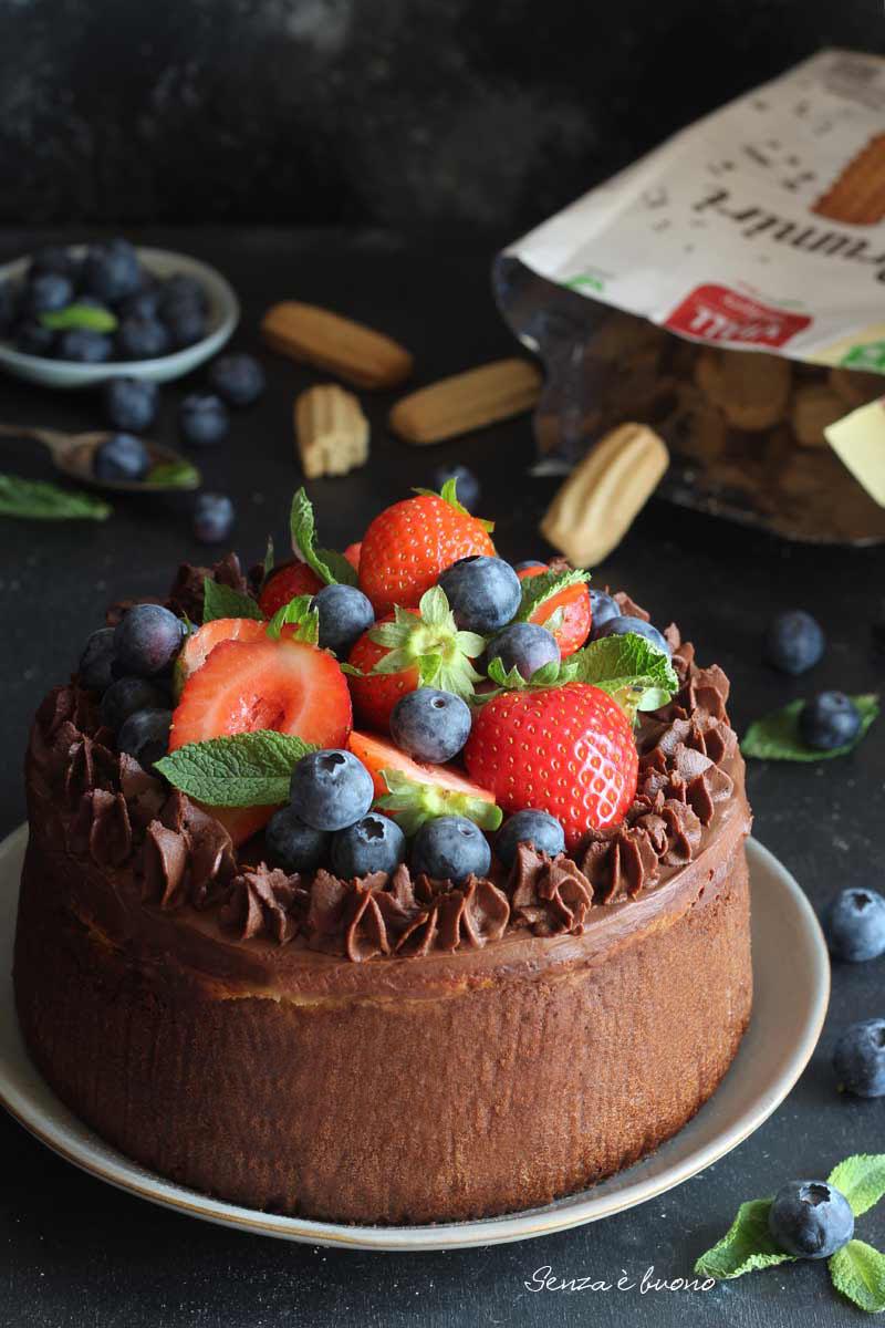 torta brownies cheesecake vegan senza soia