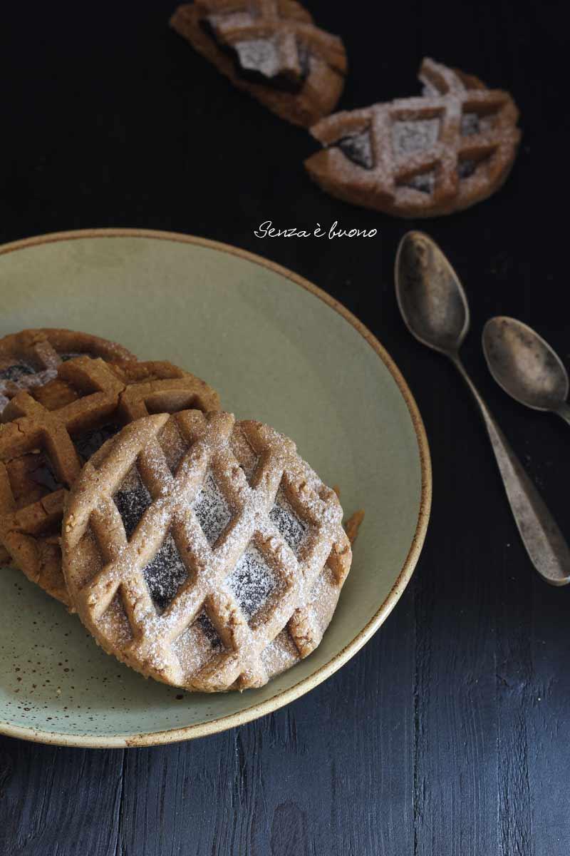ricetta pie cookies vegan senza glutine