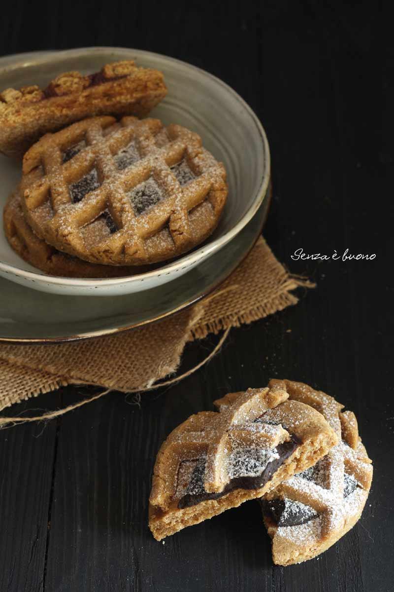 Pie cookies vegan senza glutine