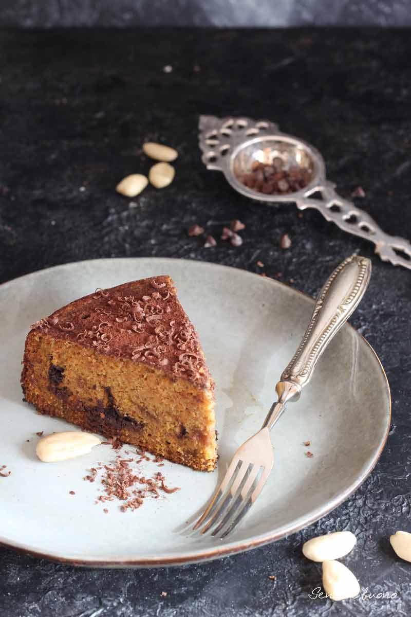 torta di carote soffice senza glutine