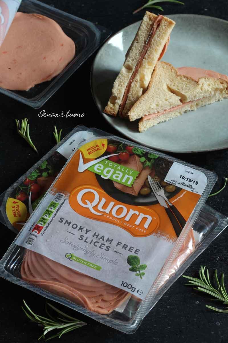 Affettato vegano senza glutine