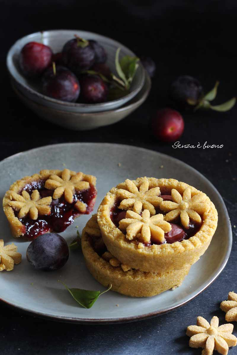 Crostata senza glutine light