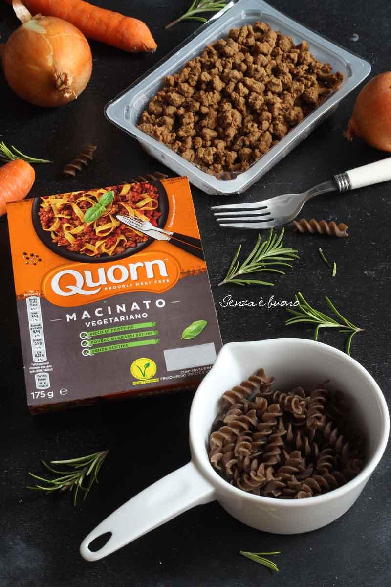 macinato vegetariano senza glutine