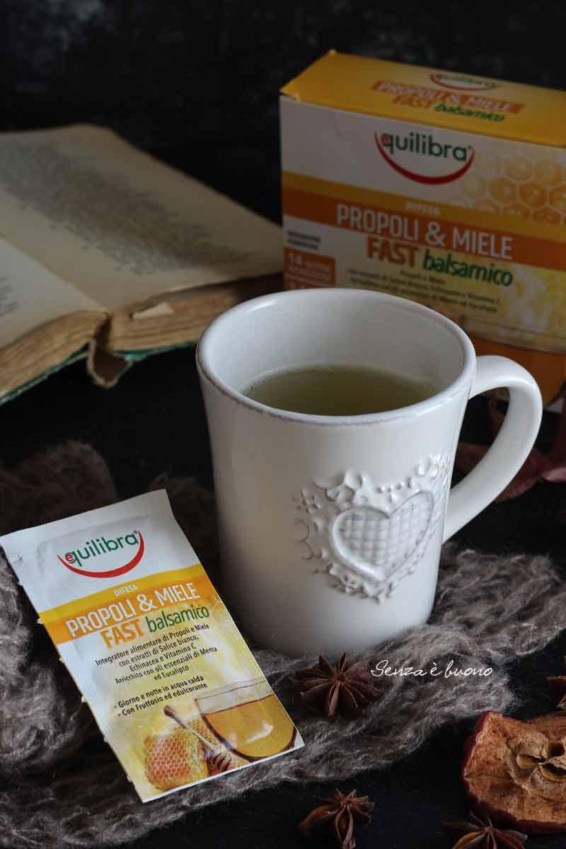 propoli e miele per il benessere della gola