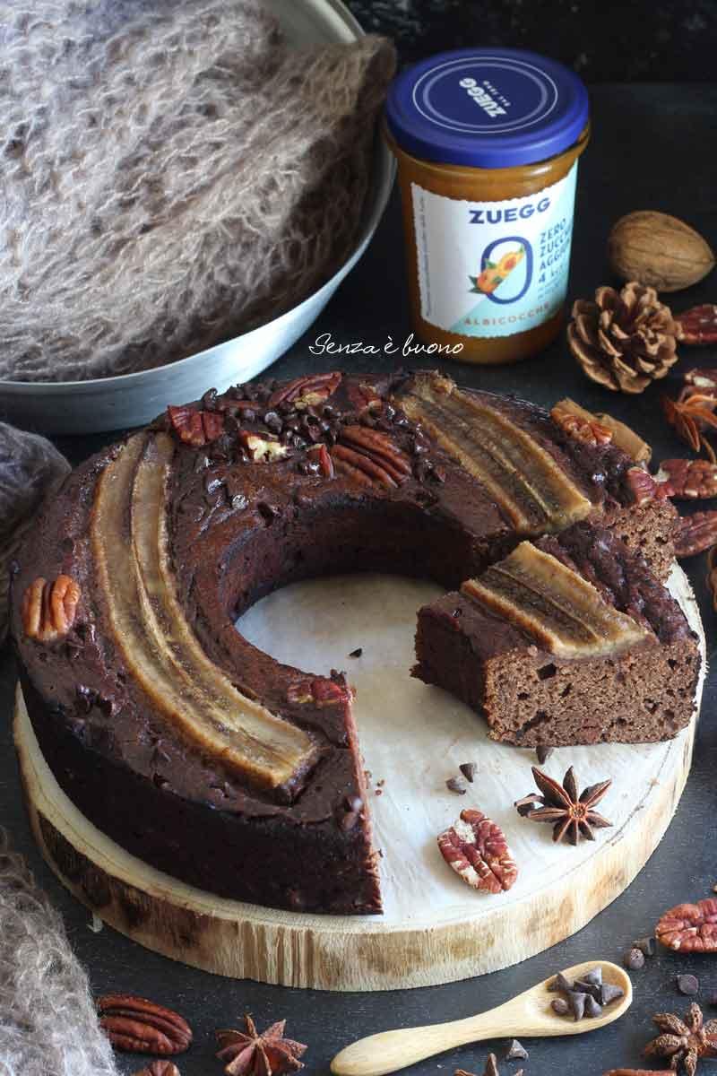 ricetta torta banana e cioccolato