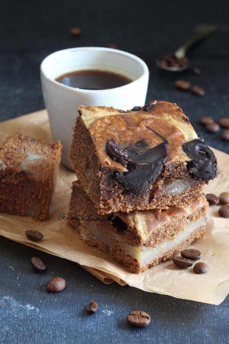 ricetta torta banana e caffè senza glutine