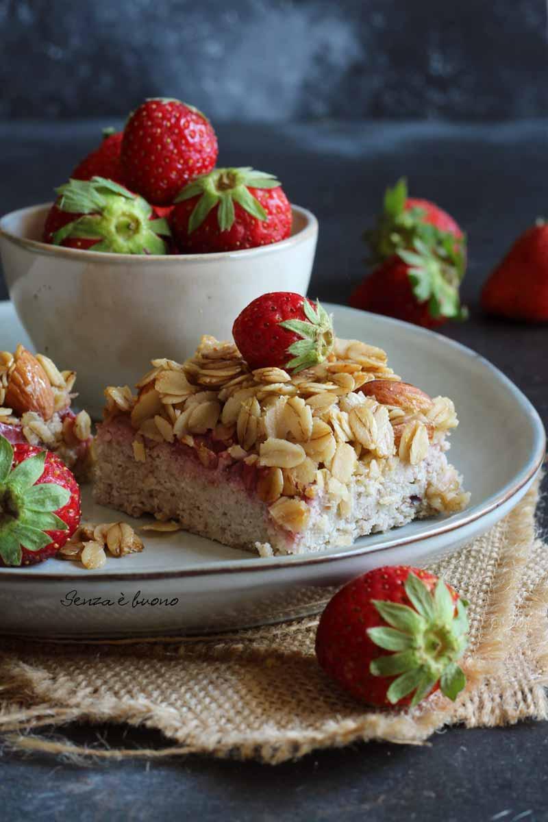 torta proteica low carb senza glutine