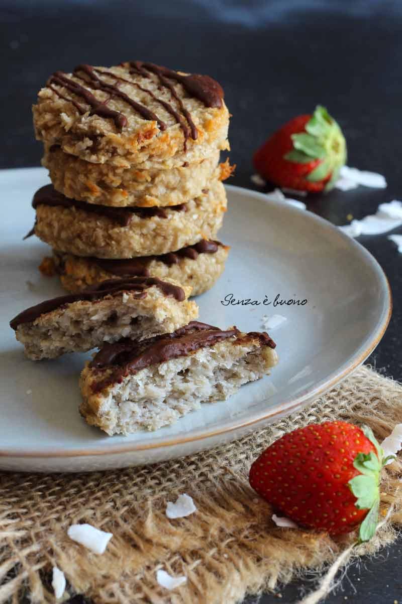 Biscotti low carb senza zuccheri aggiunti vegan