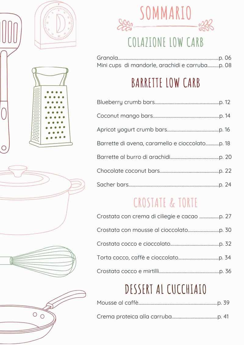 dolci senza forno ricette vegan indice e-book