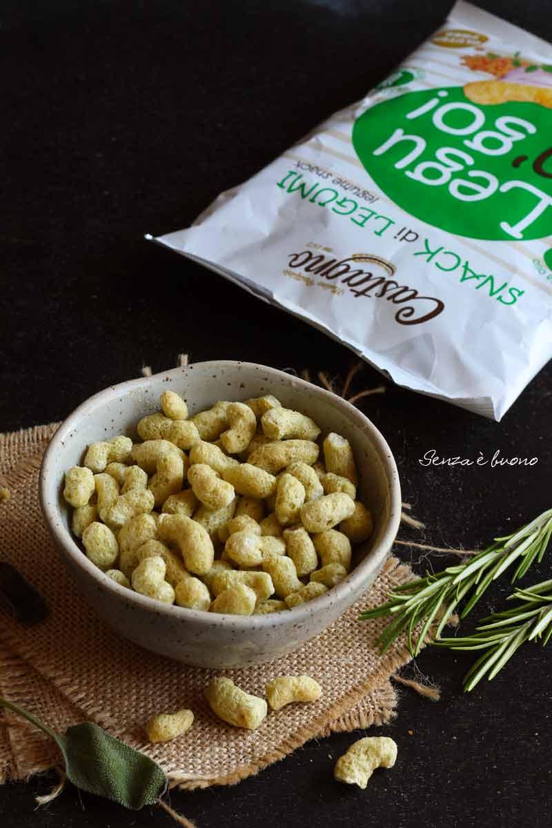spuntino proteico salato senza glutine