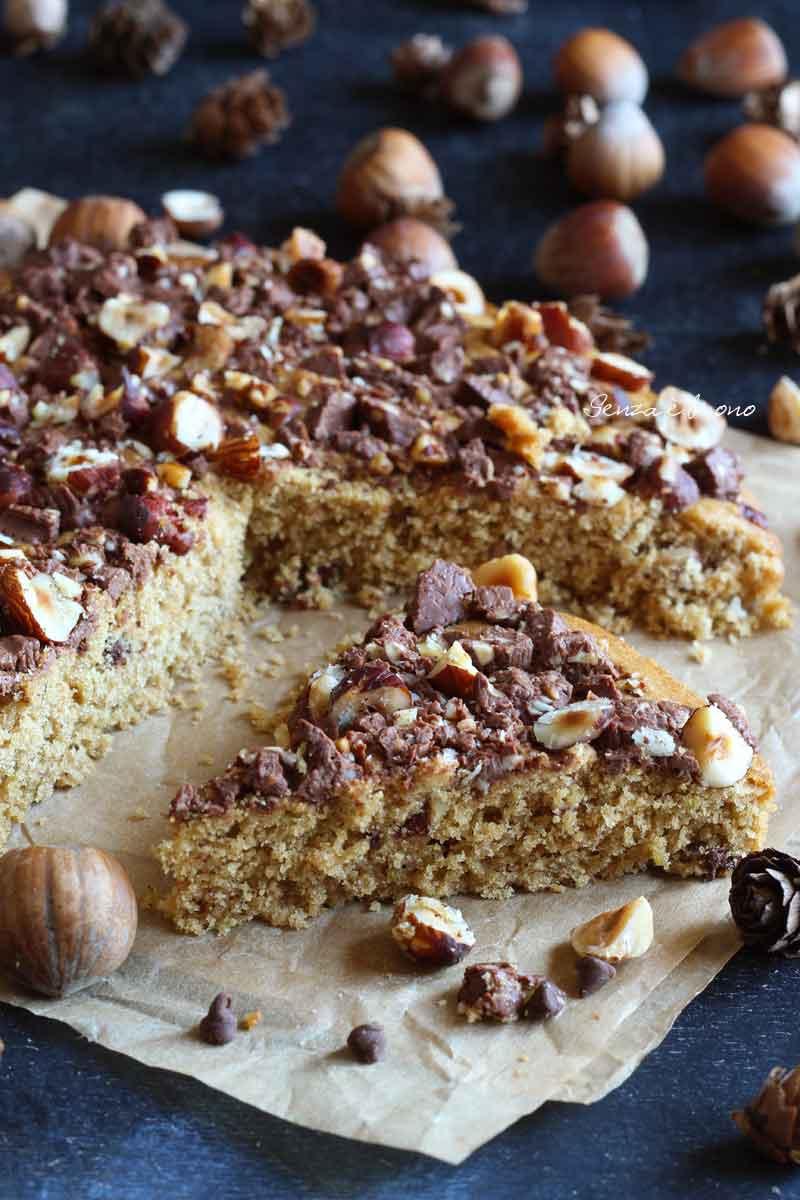 torta cookie senza glutine senza burro