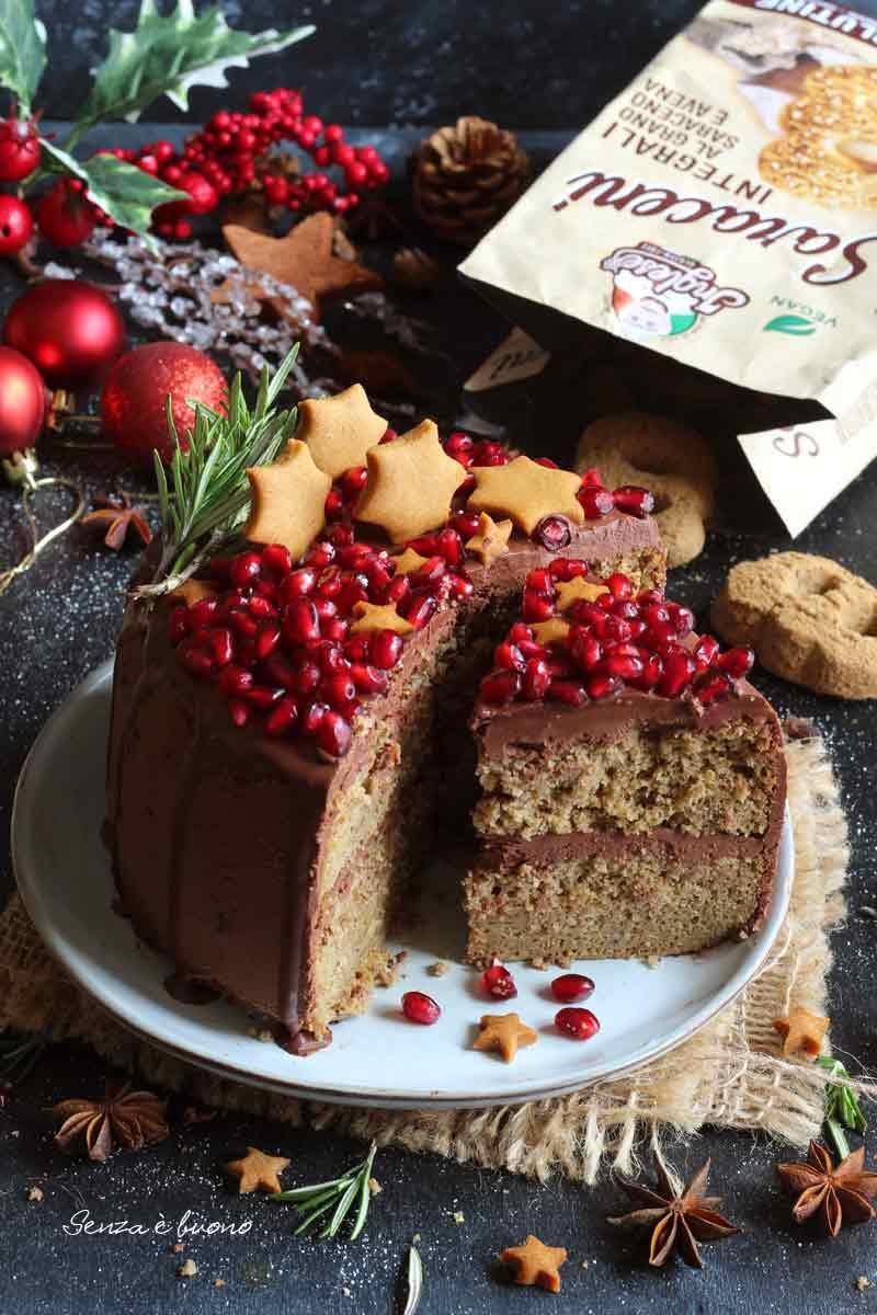 drip cake senza glutine senza latticini