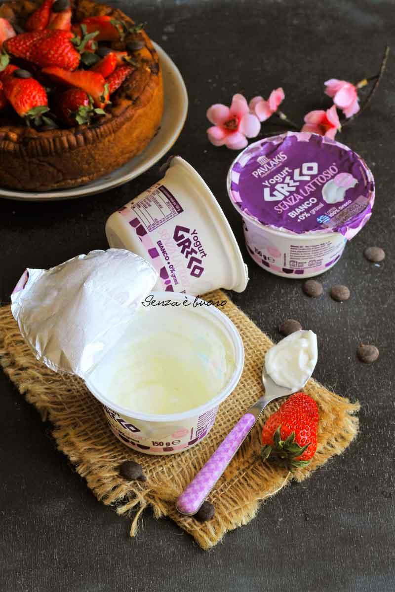 Yogurt greco senza lattosio 0% Pavlakis