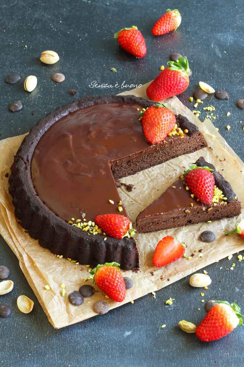 ricetta crostata morbida al cioccolato con stampo furbo
