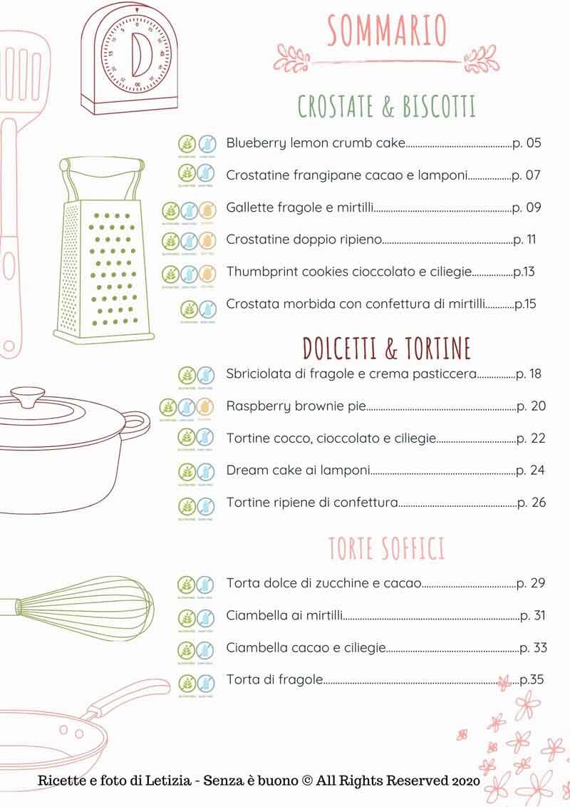 ricette dolci estivi senza glutine