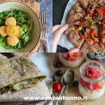 menu estivo senza glutine, vegan e senza forno