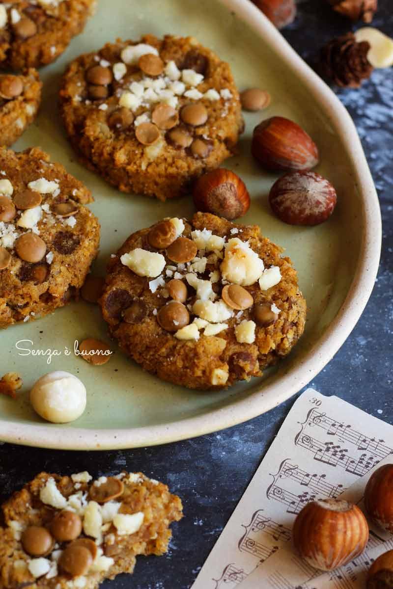biscotti proteici vegan senza glutine