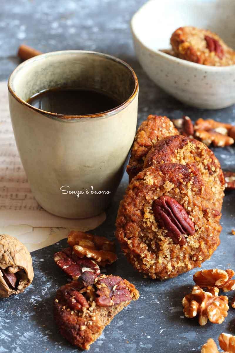 biscotti morbidi alla zucca senza glutine