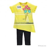 Completo t-shirt asimmetrica e pescatore 27,90€ diversi colori